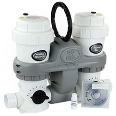 "POOLFROG XL PRO 5400 In-Ground, Inline Mineral Water System. For 40K GAL Pool 40K GAL 2"" SKT"