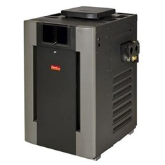C-R406A Digital Cast Iron ASME Pool/Spa Heater; 399 BTU, Natural #50 Burner, Cupro-Nickel Tubing