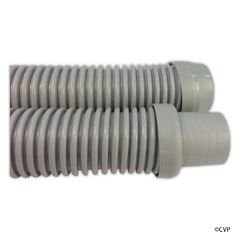 "Light Gray Universal Suction Cleaner Hose 1.5"" x 4' Section"