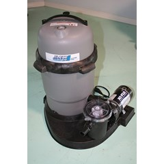 Clearwater II Cartridge Filter 75 Sq. Ft., 1 HP