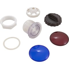 "Light Lens Kit, Housing Only. 3-1/2"" Face, 2-1/2"" Hole"