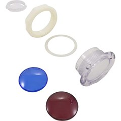 "Light Lens Kit, Housing Only. 5""Face, 3-3/4""Hole"