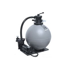 "19"" TWM Sand Filter and 1HP, 115V Pump with 3' standerd NEMA Cord"