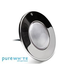 Pure White In-Ground LED Pool Light; 12 V, 39 W, White, 50 ft Cord