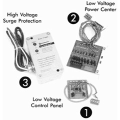 Surge Protection Kit w/1 Yr. Extended Warranty