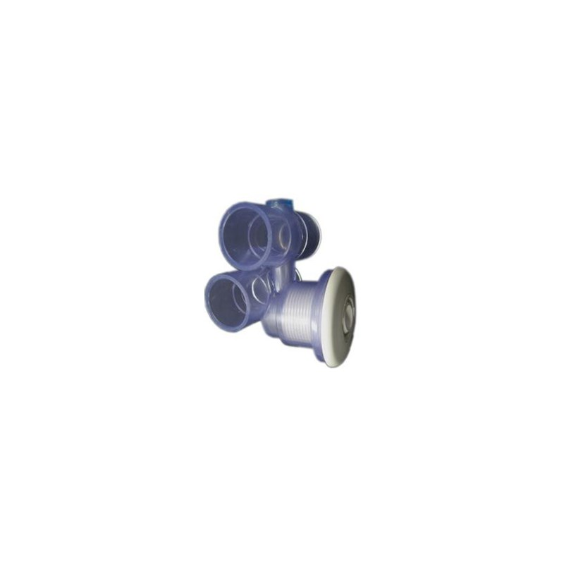 """Micro Jet Spa Jet Assembly, White 1""""Water - 1"""" Air"""