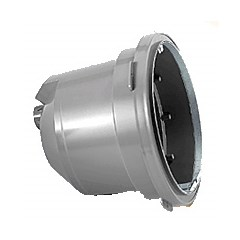 "Sun Series PVC Light Niche 1"" Rear Hub, Vinyl or Fiberglass"