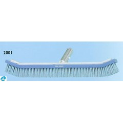 Metal Back Curved Wall Brush 18""