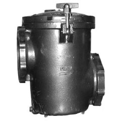 "Waterco Hydro 5000 Strainer 6"" x 6"" Cast Iron with Hardware"