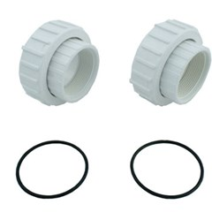 "Union Half - 2"" x 2"" Female Threaded Package of 2"