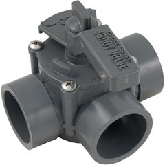 "Space Saver - 1-1/2"" - 2"" Positive Seal,3 Port Valve"