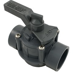 "Space Saver - 1-1/2"" - 2"" Positive Seal,2 Port Valve"