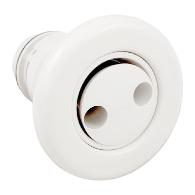 Poly Jet Pulsator Deluxe Jet Internal Smooth Finish - White