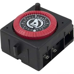 Time Clock, Red Dial - 120 Volt Motor