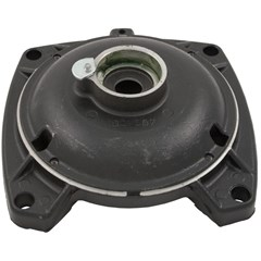 "Shaft End Bell, 48 Frame Square Flange (Use 203 Bearing) 2""dia x 1-1/4"" oval x 3-1/8""h"