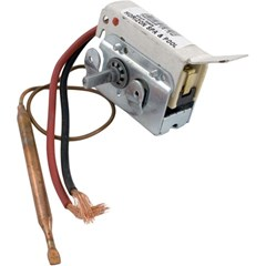 "Thermostat 1/4"" x 6"" Pre wired."