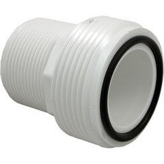 "1-1/2"" Heater Union Tailpiece - MPT Threaded Connection Includes O-Ring"
