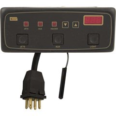 Digital Topside 3-Button 120v, 6ft cord