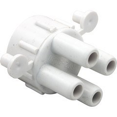 "Manifold, 1/2"" Air Control with 4 - 3/8""Barbs (2 plugs)"
