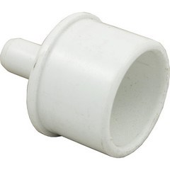 "Barb Adapter, 1"" Spigot x 3/8"" Barb"