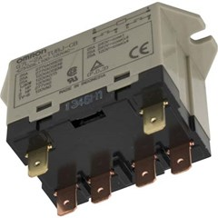 Omron Relay, DPST, 120vac Coil, 25A