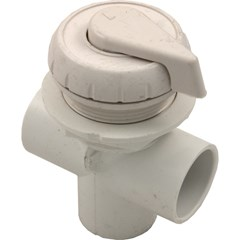"1"" Vertical Top Access Diverter Valve, White"