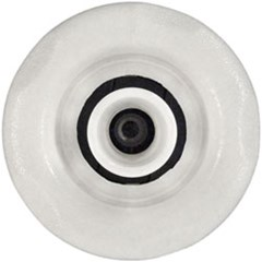 Poly Storm Threaded Jet Internal - Directional, 5 Scallop Face White - Smooth Finish