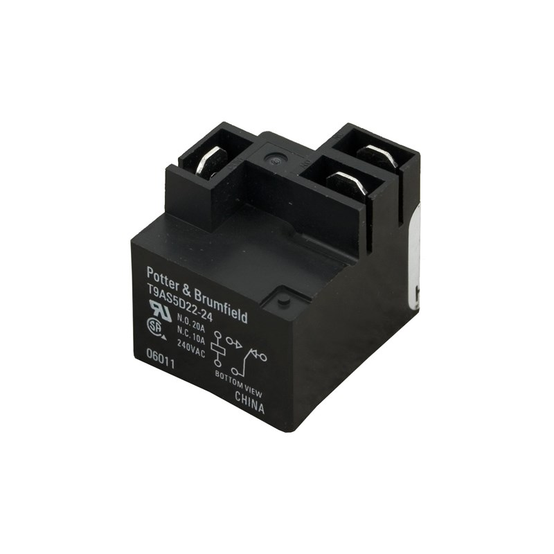 T9AS Relay SPDT 24VDC 30A PCB Mount