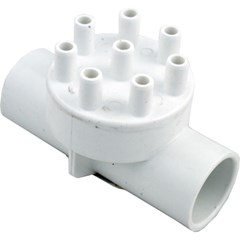 "Manifold, 1"" Slip x 1"" Slip x (8) 3/8"" Barbs (Assembly/Glued)"