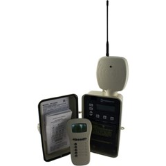 PE1353ME in Steel Outdoor Enclosure & Radio Remote