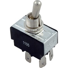 Toggle Switch, DPST, 240v