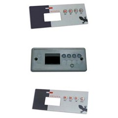TSC-19 AND OVERLAY KIT GE1-GE2LED, 1 or 2 Pump W/8 Pin JST Plug 0202-007050