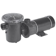 Center Discharge Above Ground Pool Pump with NEMA Cord