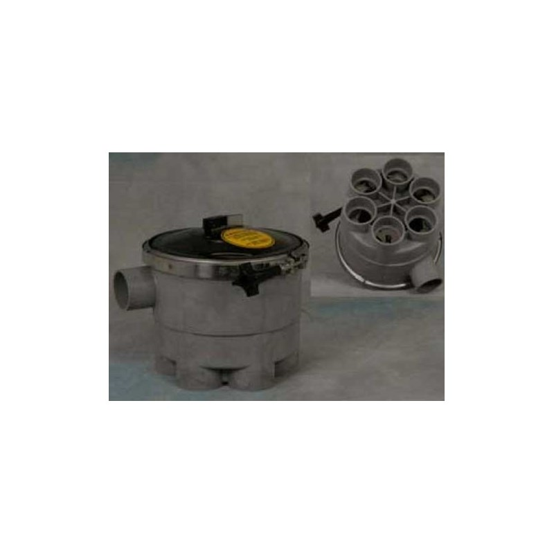 "2"" 6-Port Low Profile T-Valve"