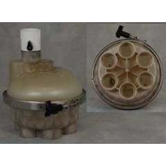 "1.5"" 6-Port Top Feed T-Valve"