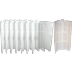 "Complete 18"" Grid Replacement Package For 36 sq ft Filters Package of 7 Large Grids-1 Partial Grid"