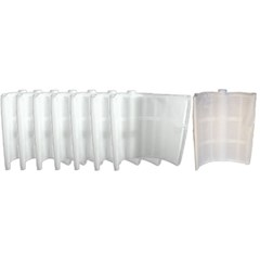 "Complete 12"" Grid Replacement Package For 24 sq ft Filters Package of 7 Large Grids-1 Partial Grid"