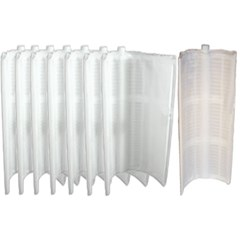 "Complete 24"" Grid Replacement Package For 48 sq ft Filters Package of 7 Large Grids-1 Partial Grid"
