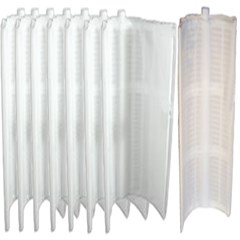 "Complete 36"" Grid Replacement Package For 72 sq ft Filters Package of 7 Large Grids-1 Partial Grid"