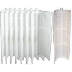 "Complete 30"" Grid Replacement Package For 60 sq ft Filters Package of 7 Large Grids-1 Partial Grid"