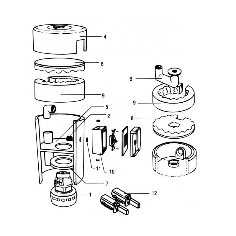Blower Casing (For Servicable Units)