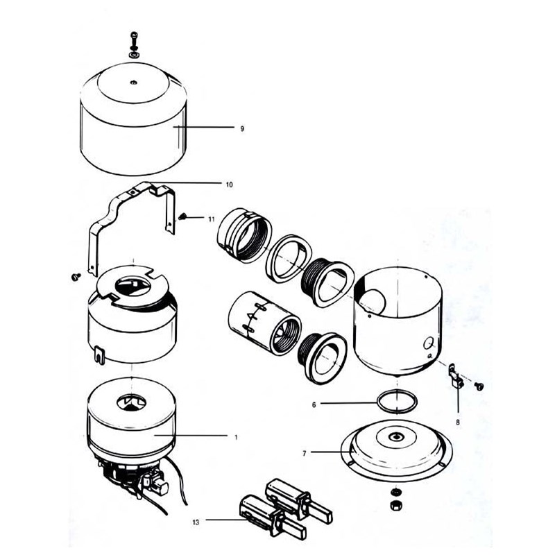 1-1/2 HP 220 Volt Southwind ReplacementMotor