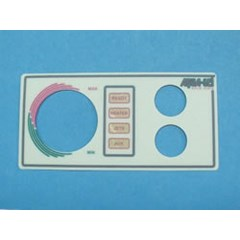 Aqua Set, Faceplate Labels